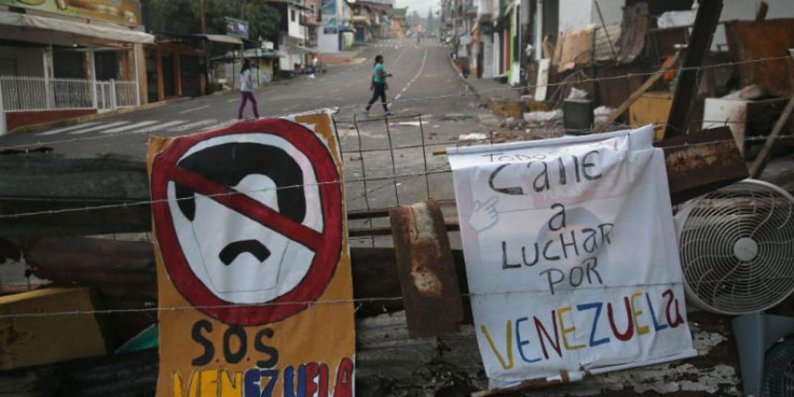 La oposición busca apoyo de la Organización de Estados Americanos, de la Unión Europea y de la Unión de Naciones Suramericanas. Foto:Getty Images