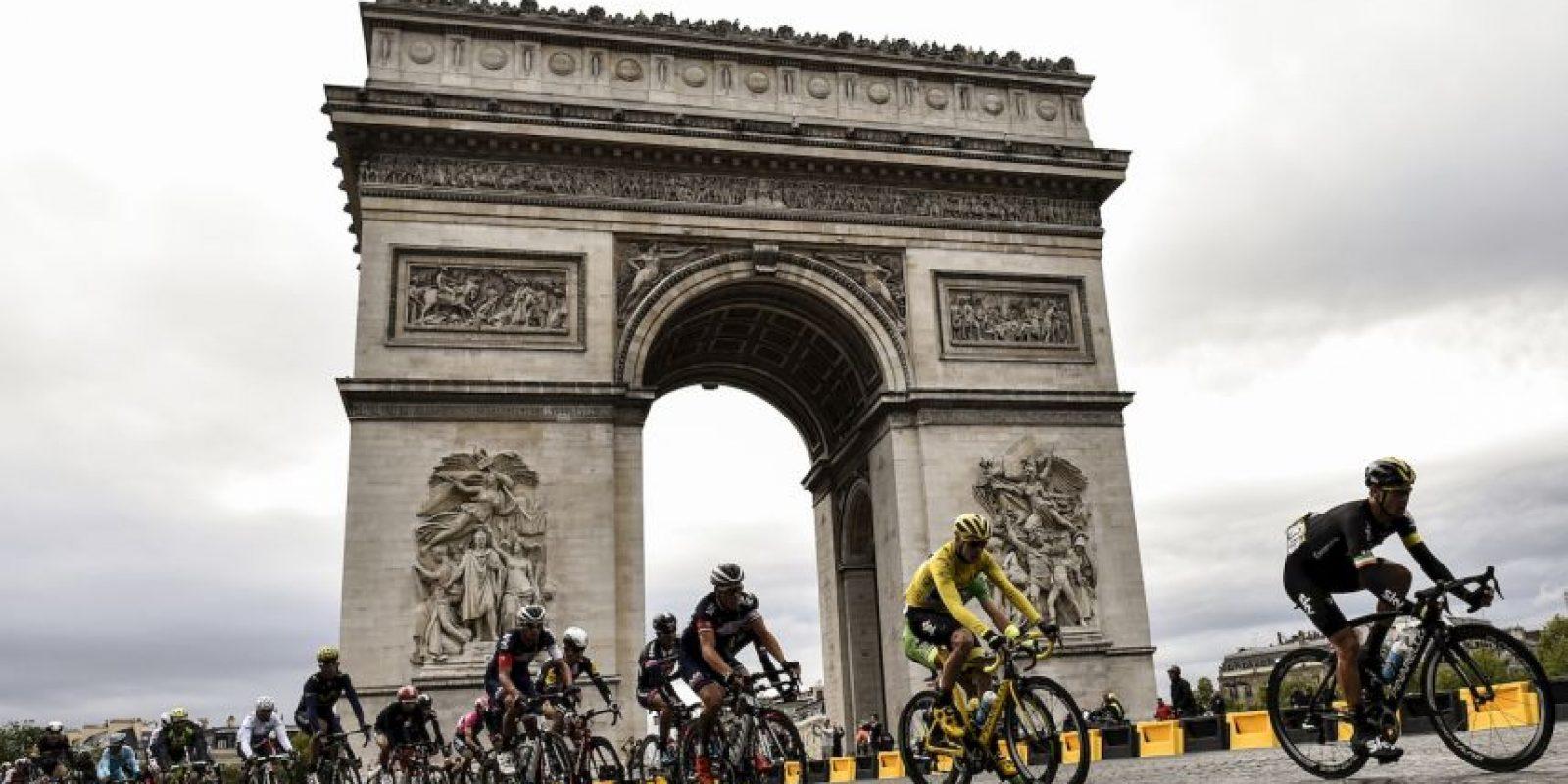 Parte final del Tour de Francia. Foto:AFP