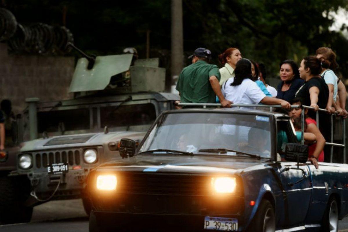 Pues si lo hacían estaban amenazados de muerte. Foto:AFP