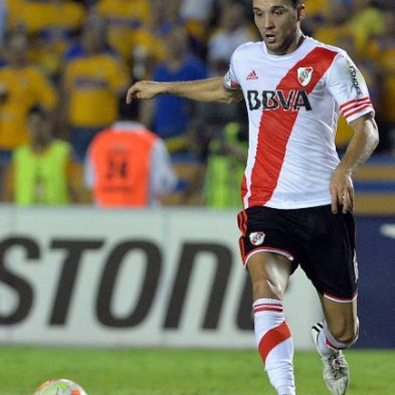 Ya en el segundo tiempo, River Plate ganó protagonismo y jugó con la desesperación de los mexicanos por abrir el marcador. Foto:Getty Images