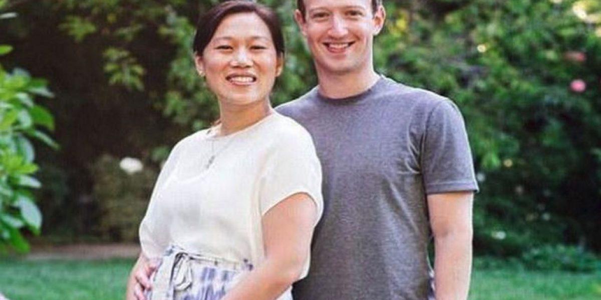 Mark Zuckerberg y su esposa anunciaron la llegada de su primer hijo
