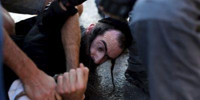 Yishai Schlissel, fue el hombre, que llevó a cabo el ataque. Foto:AFP