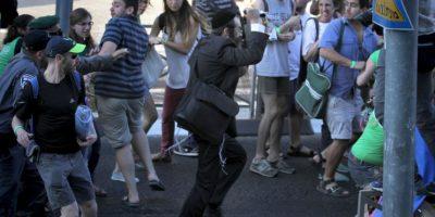 Una de las 6 personas era una adolescente. Foto:AFP
