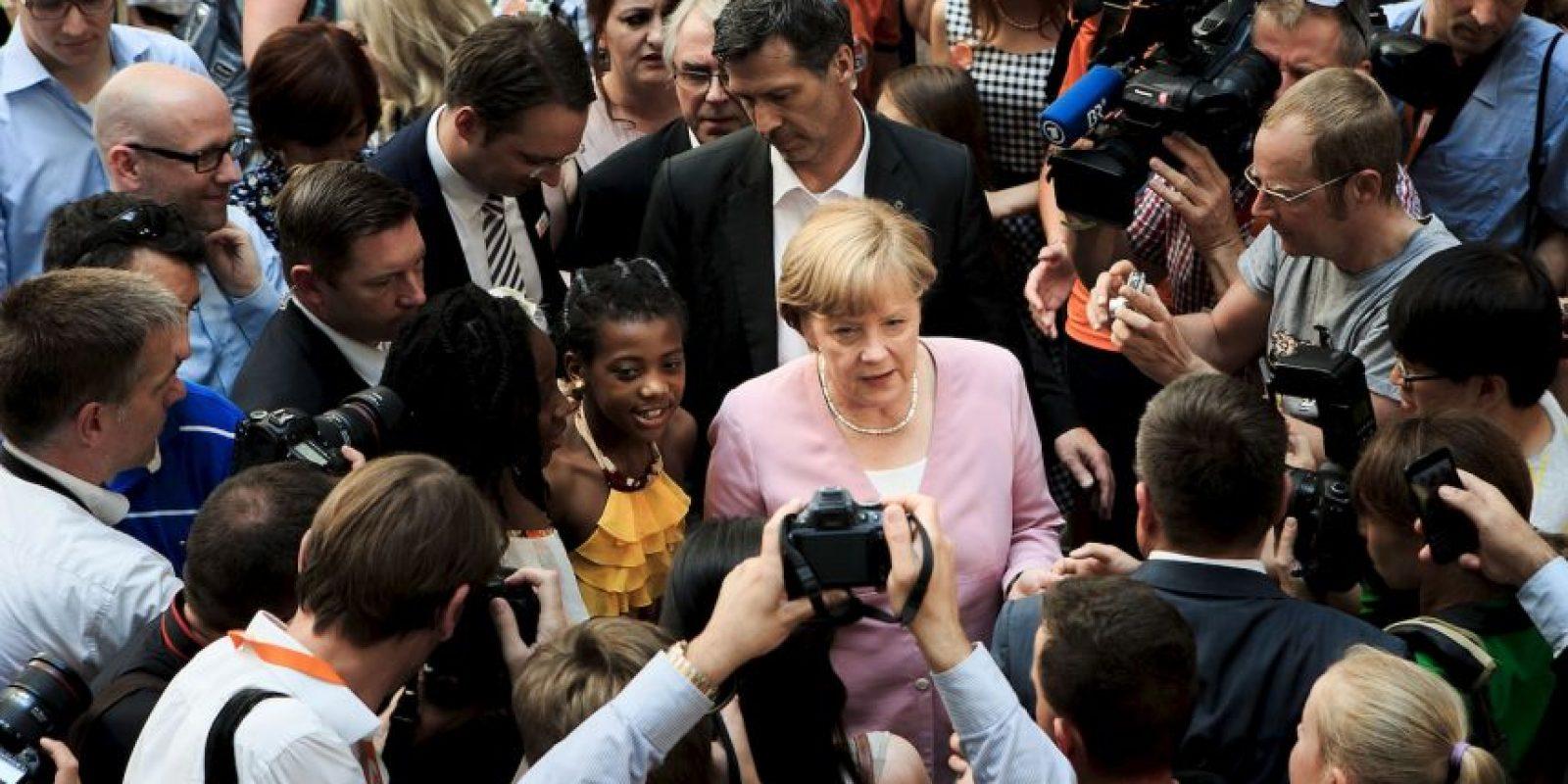 Parece ser que la canciller anunciará esta decisión hasta el 2016. Foto:Getty Images