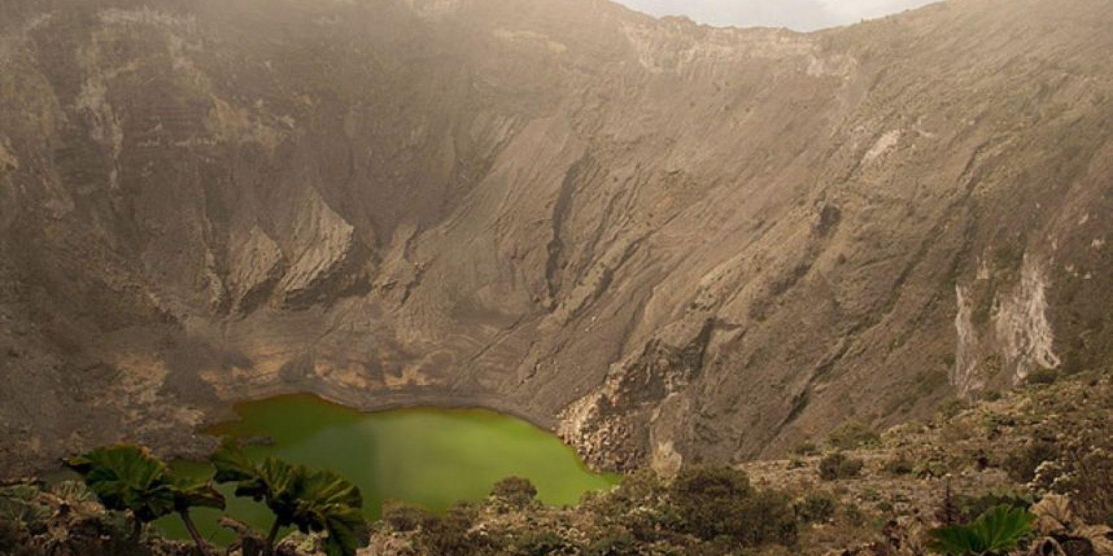 Lago del cráter del volcán Irazú, Costa rica Foto:Wikimedia
