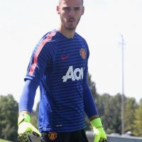 El arquero tiene 24 años y defiende la portería del Manchester United. Foto:Getty Images