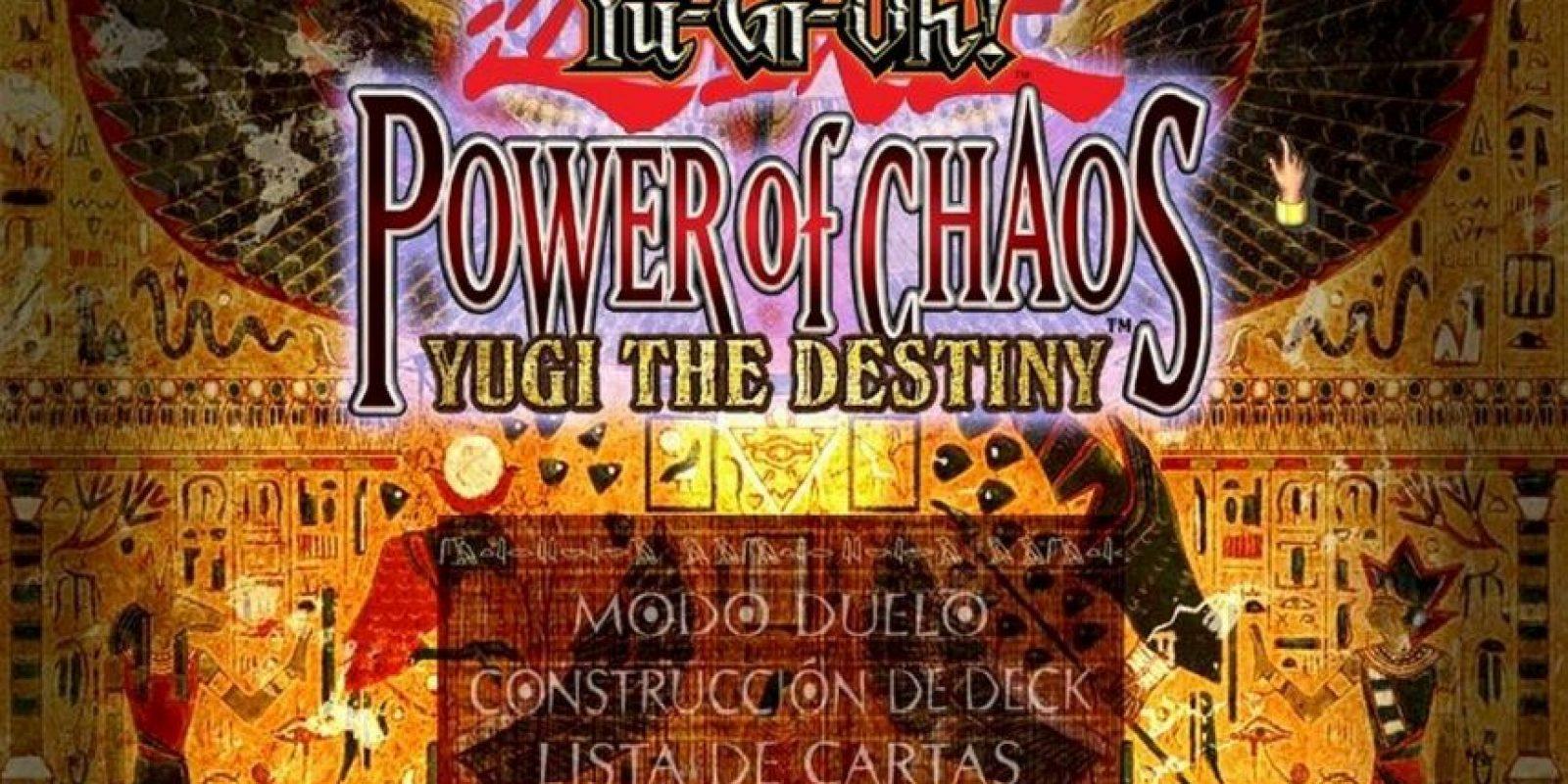 Yu-Gi-Oh! Power of Chaos: Yugi the Destiny (2004). Foto:Konami