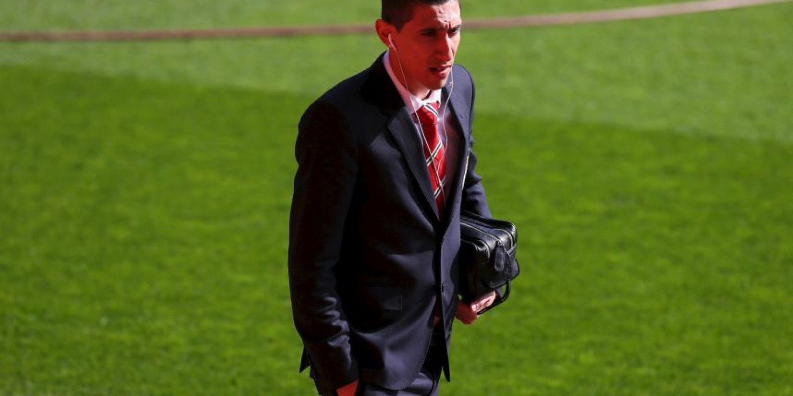 """En la temporada 2014/2015 jugó 32 partidos con los """"Red Devils"""" (Entre liga y copas). Foto:Getty Images"""