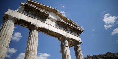 Se encuentra en Atenas, Grecia, y alcanza los 156 metros sobre el nivel del mar. En ella se localiza el histórico Partenón. Foto:Getty Images