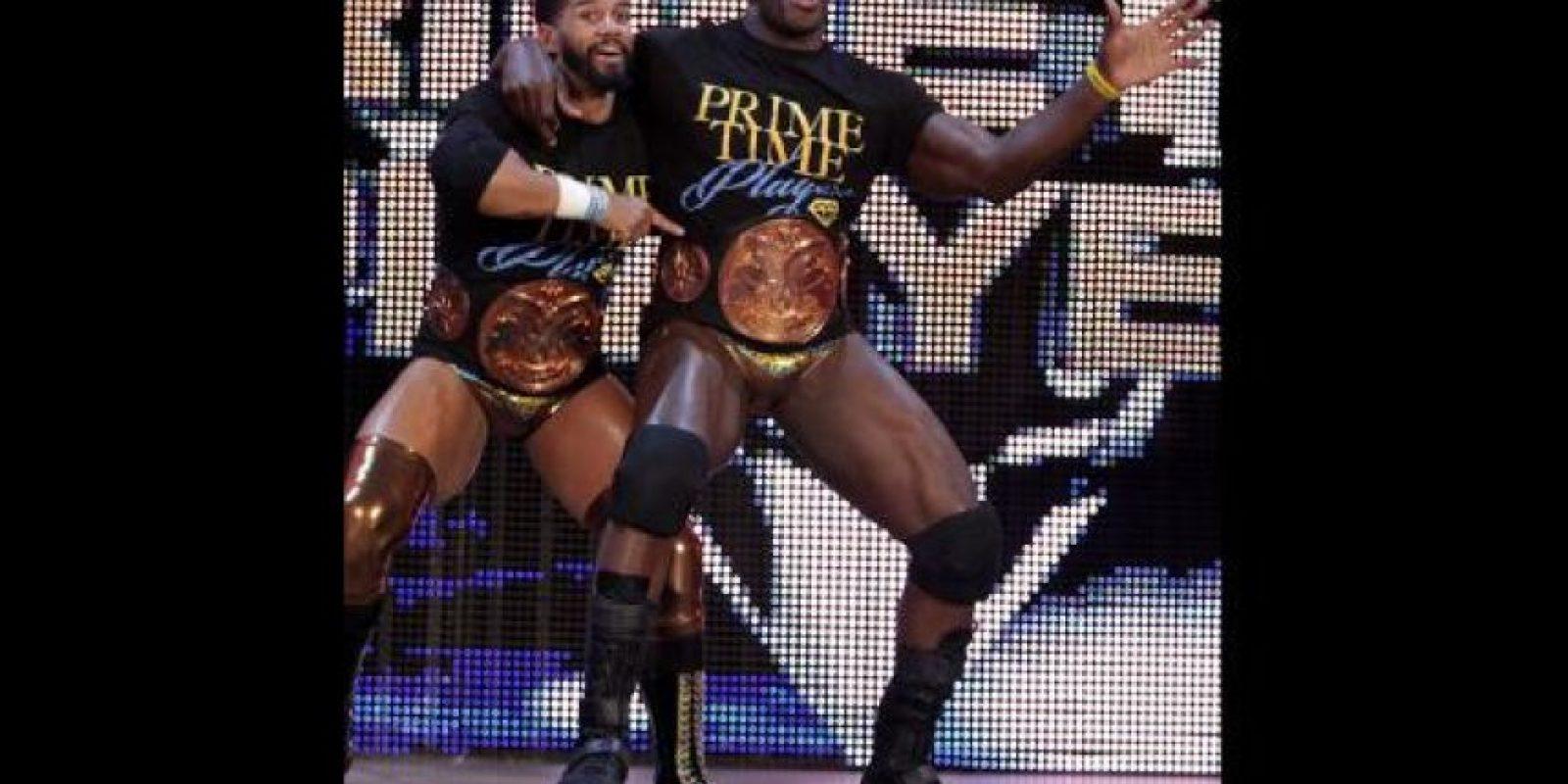Es miembro de Prime Time Players, actuales campeones en pareja de la WWE Foto:WWE