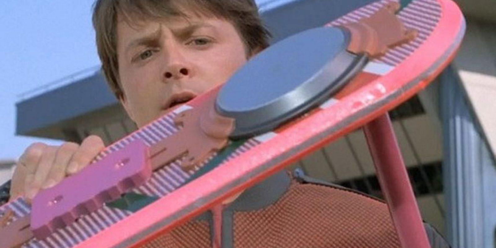 """Todos los fanáticos de """"Volver al Futuro"""" quieren una tabla voladora. Foto:IMDB"""