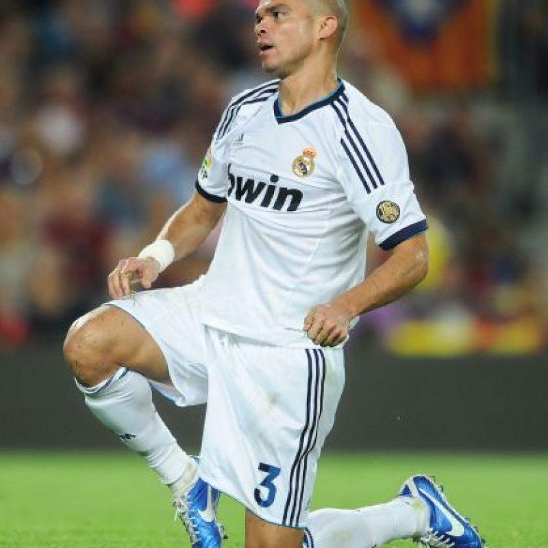 2. Pepe en Real Madrid. Foto:Getty Images