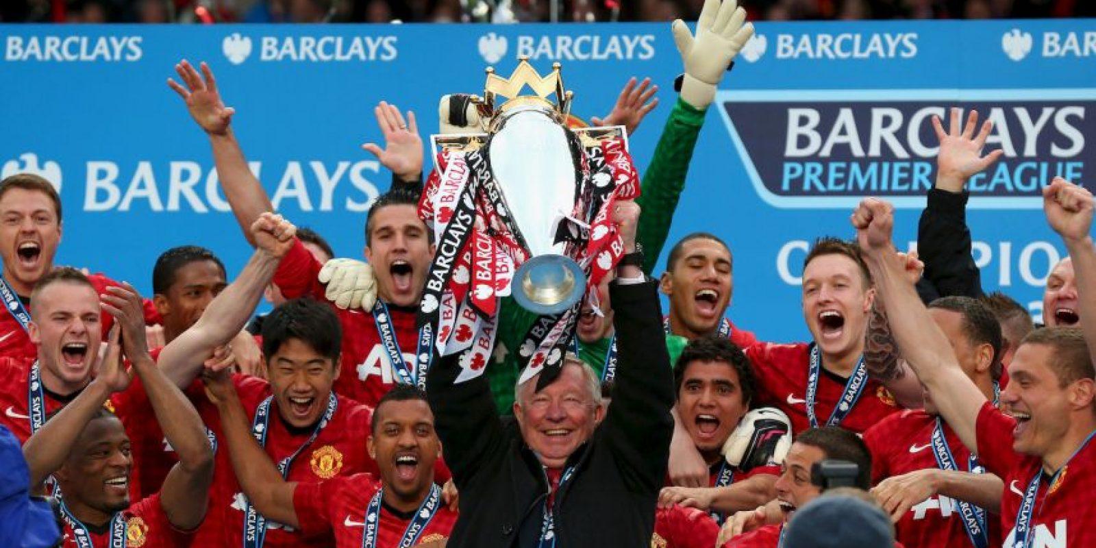 """Los """"Red Devils"""" son uno de los clubes más importantes del mundo. Tienen 20 Ligas y 7 títulos de la UEFA en 137 años de historia. Foto:Getty Images"""