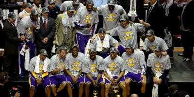 3. Los Ángeles Lakers (Baloncesto) Foto: Getty Images
