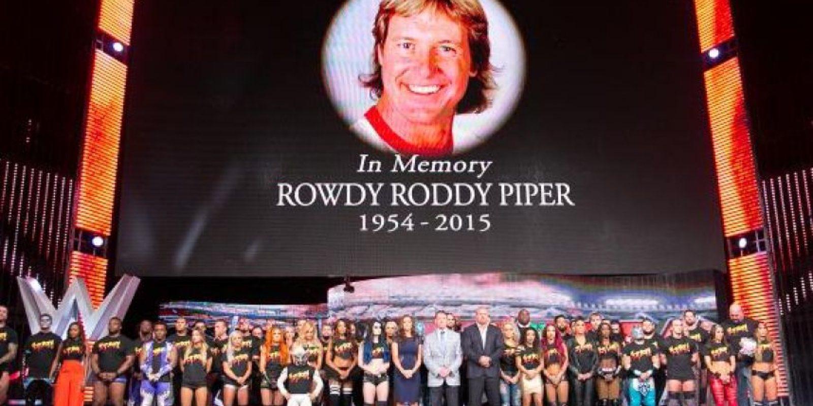 Falleció a los 61 años a causa de un paro cardiaco Foto:WWE