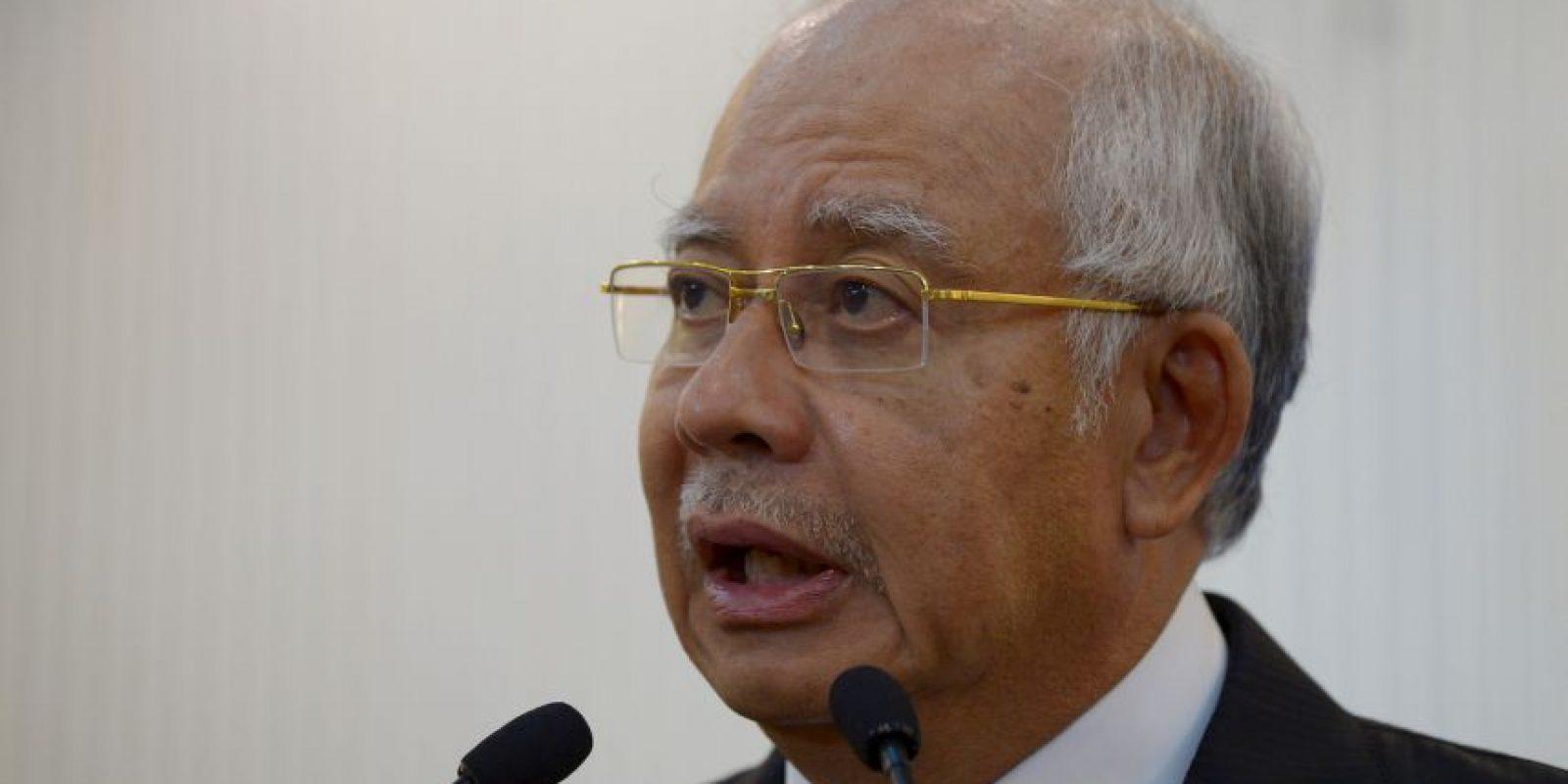 El primer ministro de Malasia confirmó la noticia Foto:AFP