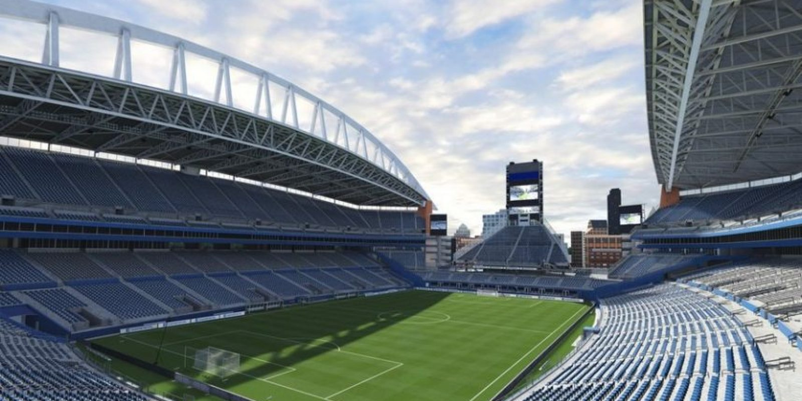 CenturyLink Field (Seattle Sounders FC, Major League Soccer). Foto: EA Sports