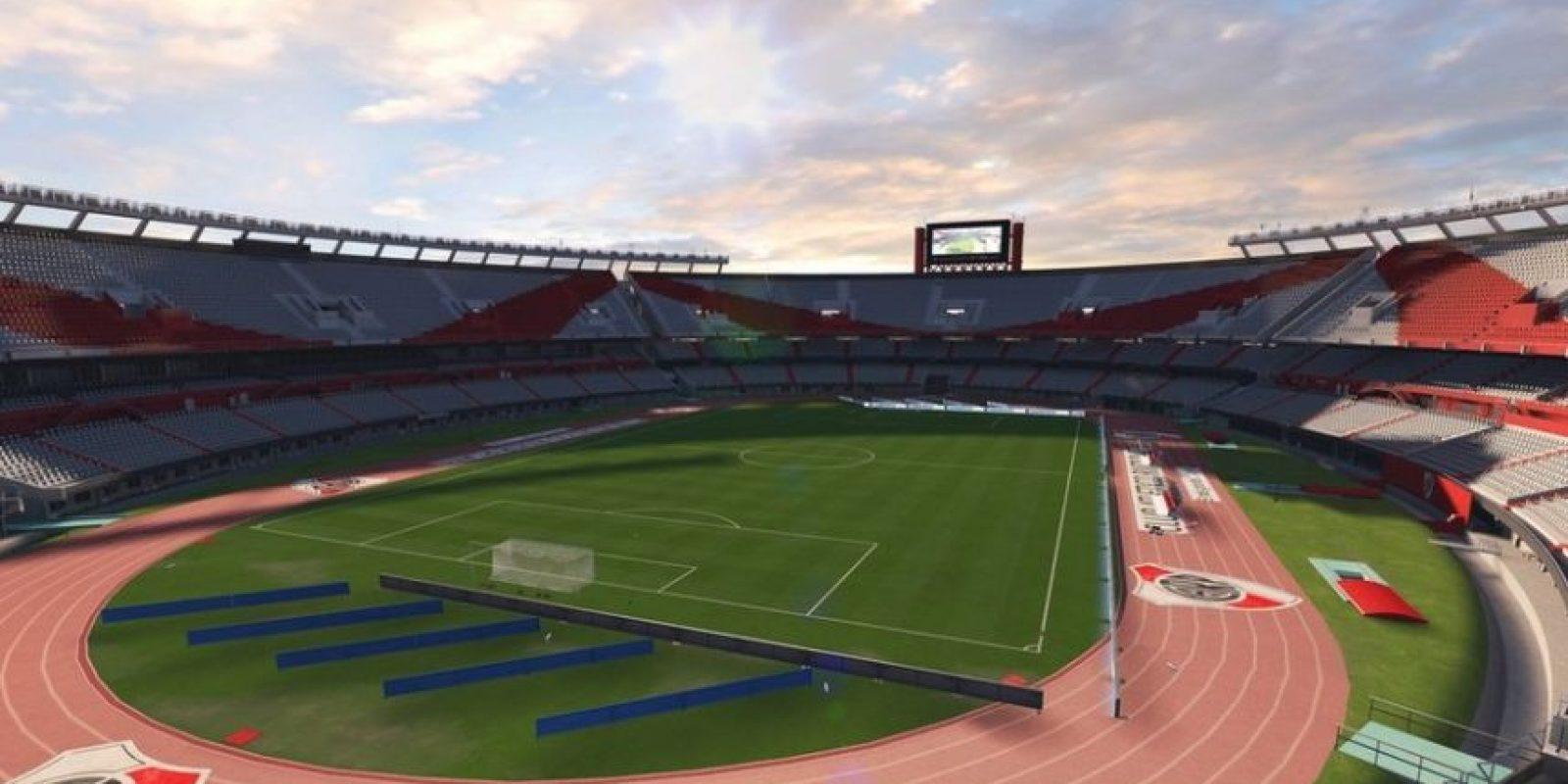 El Monumental (Club Atlético River Plate, Argentine Primera División). Foto:EA Sports