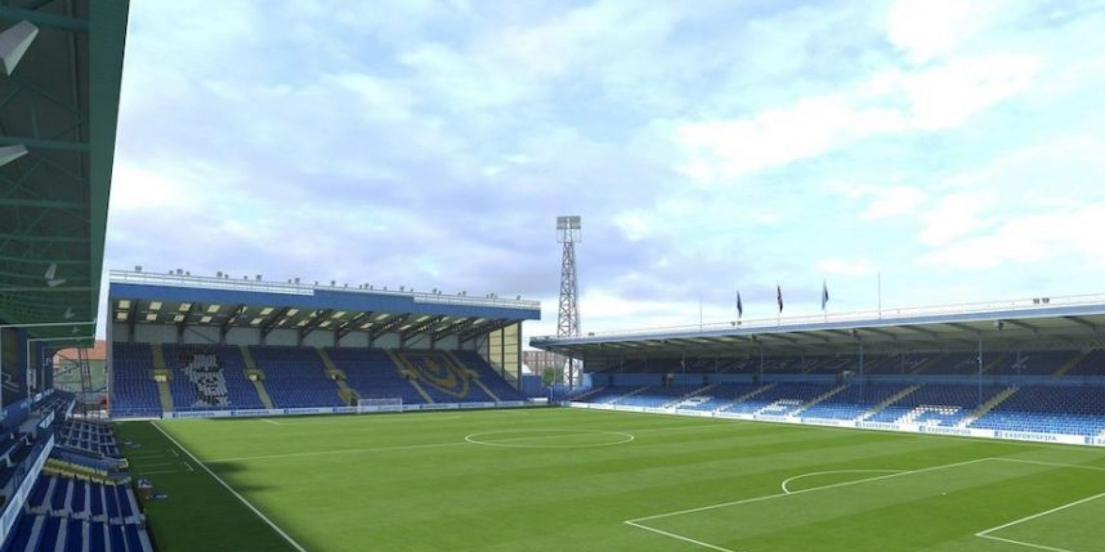 Fratton Park (Portsmouth FC, England League Two). Foto: EA Sports