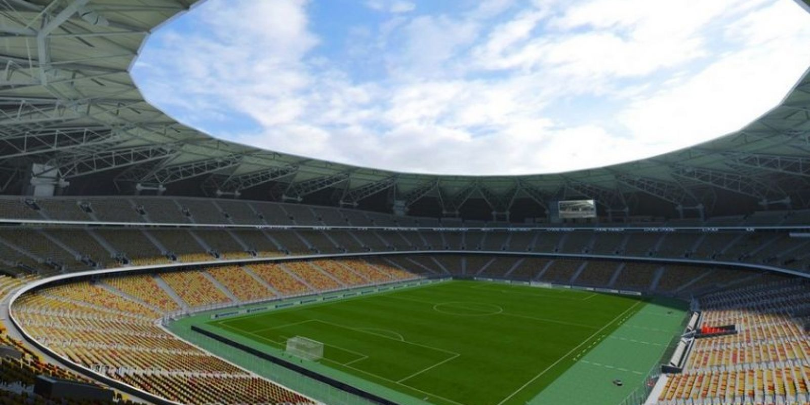 King Abdullah Sports City (Al-Ittihad y Al-Ahli, Abdul Latif Jameel League de Arabia Saudita). Foto: EA Sports