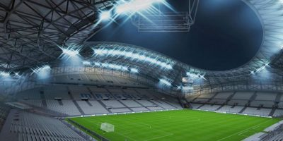 Stade Vélodrome (Olympique de Marsella, Ligue 1). Foto: EA Sports