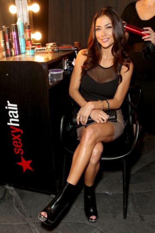 """En 2006, debutó como """"ring girl"""" en una función de la UFC en el famoso """"Hard Rock Hotel"""" de Las Vegas. Foto:Getty Images"""
