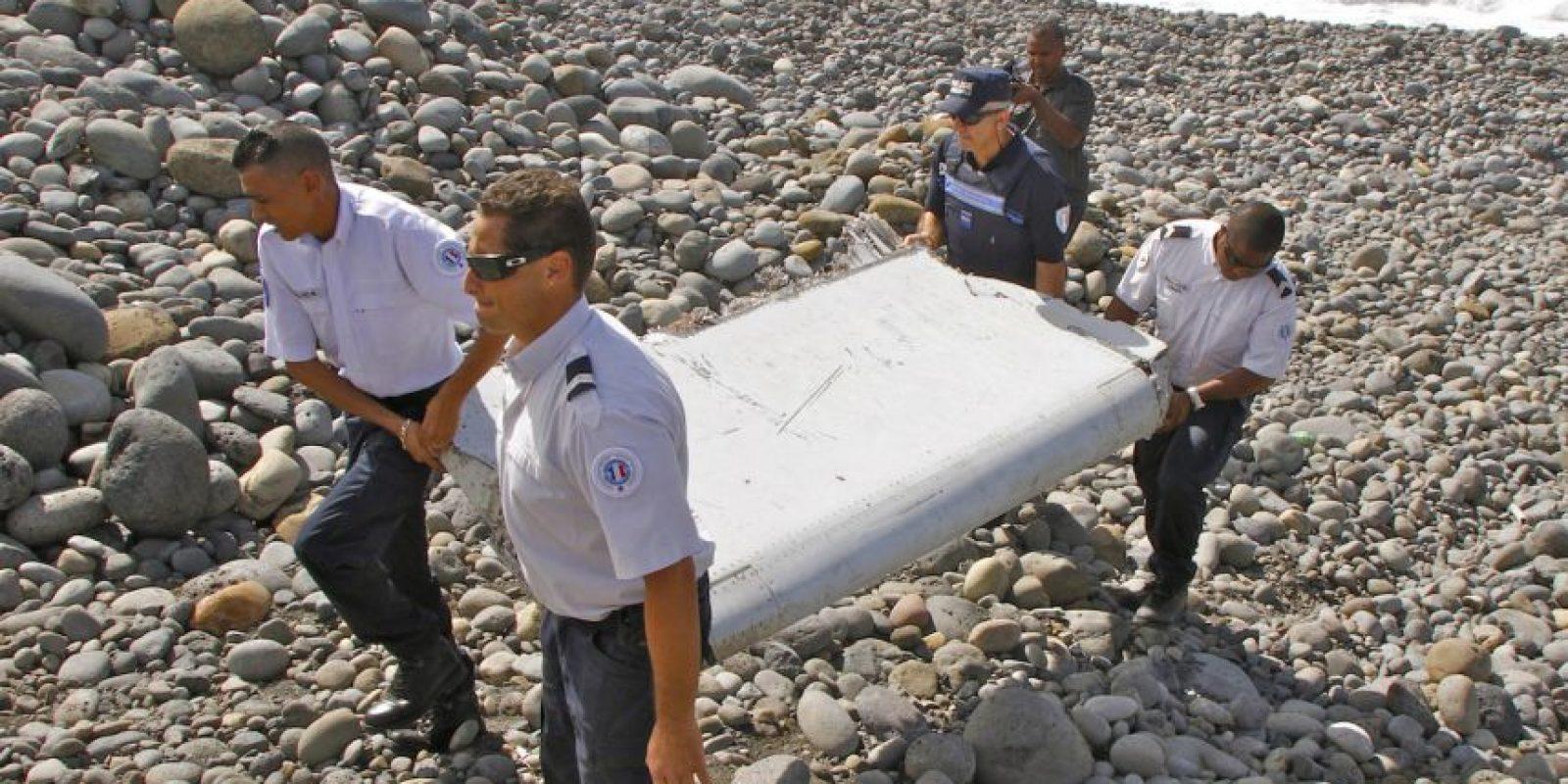 Los restos fueron analizados por autoridades francesas. Foto:AP