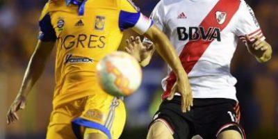 Final Copa Libertadores: La fuerte entrada de futbolista de River Plate que no fue expulsión