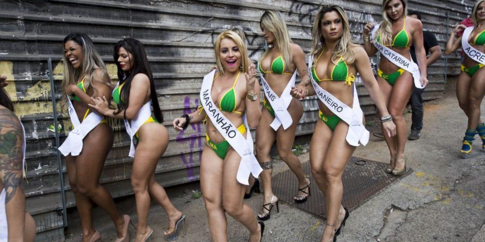Como cada año, en Brasil se realizará el concurso Miss BumBum. Foto:AFP