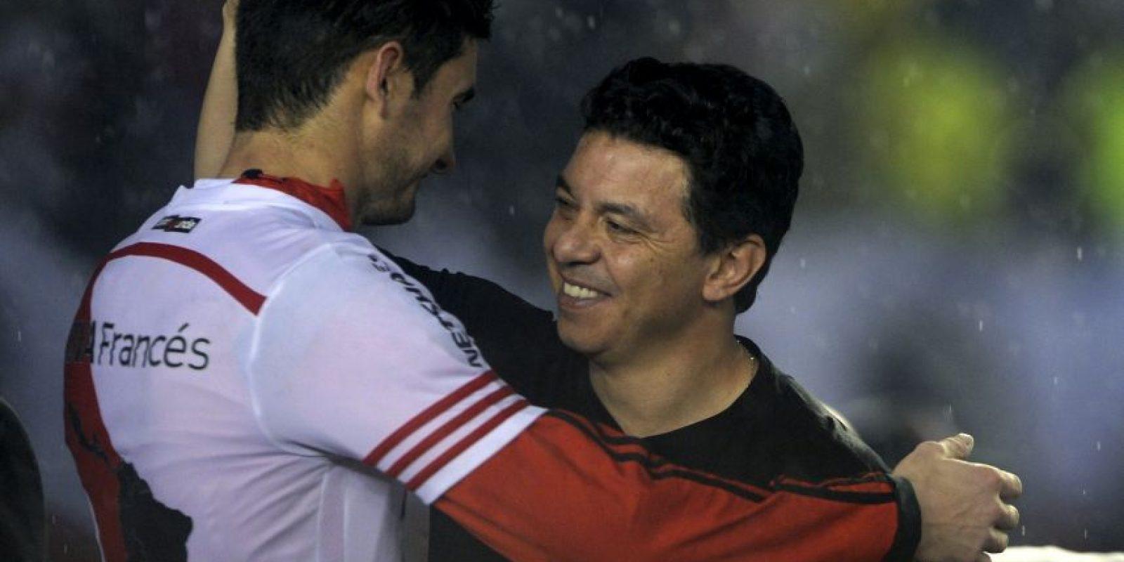 Desde el banquillo también ganó la Copa Sudamericana el año pasado Foto:Getty Images