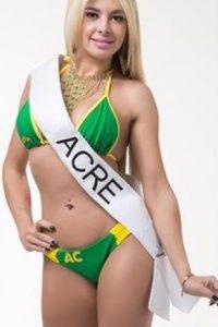 Diana Andrade de Acre. Foto:missbumbum2015.com.br
