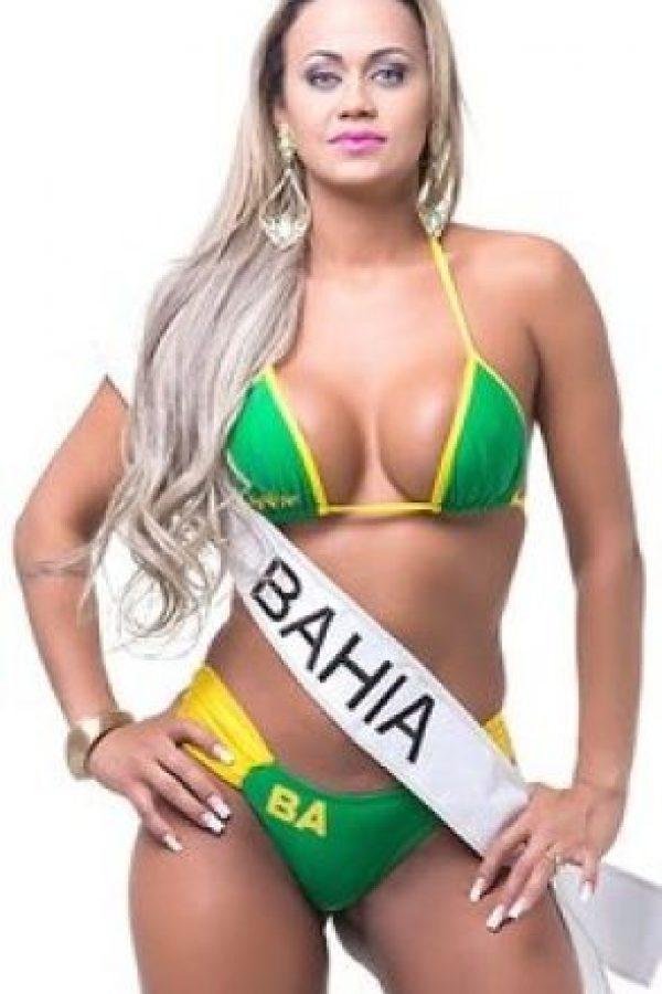 Raquel Castro de Bahía. Foto:missbumbum2015.com.br