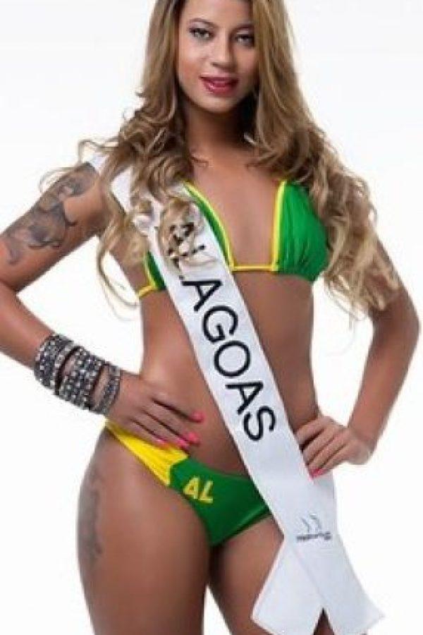 Milena Ramos de Alagoas. Foto:missbumbum2015.com.br