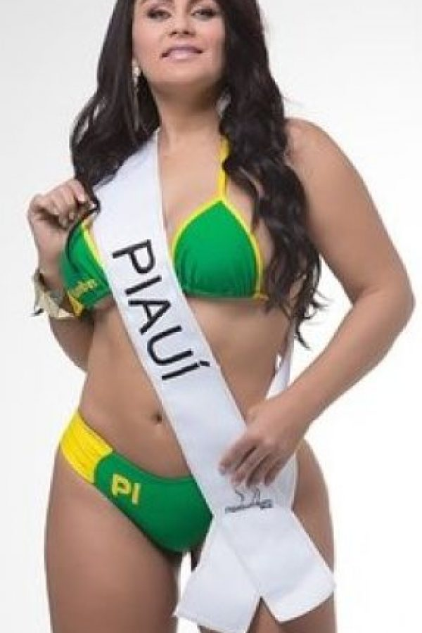 Claudia Pires de Piaui. Foto:missbumbum2015.com.br