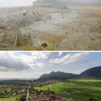 Otra perspectiva de Bahía de Aceh, Indonesia Foto:Getty Images