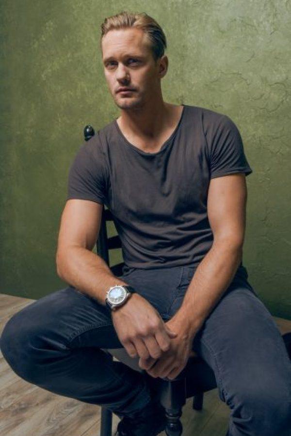 "Saltó a la fama por interpretar a ""Eric Northman"" en la serie ""True Blood"". Foto:Getty Images"