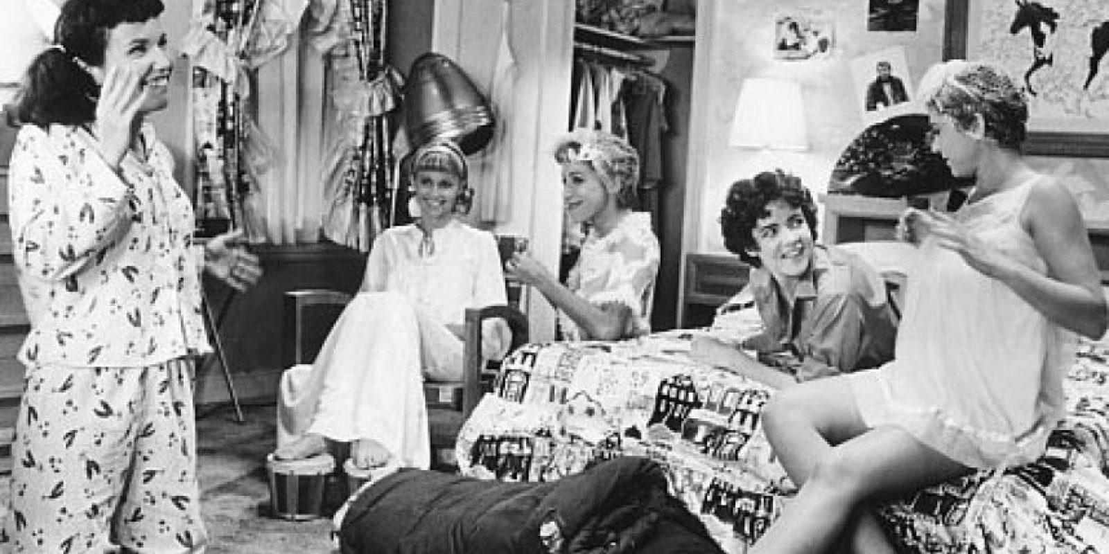 """Algunos de los actores originales de la cinta realizó """"Grease"""" en Broadway, pero no interpretaron sus mismos papeles. Foto:IMDb"""