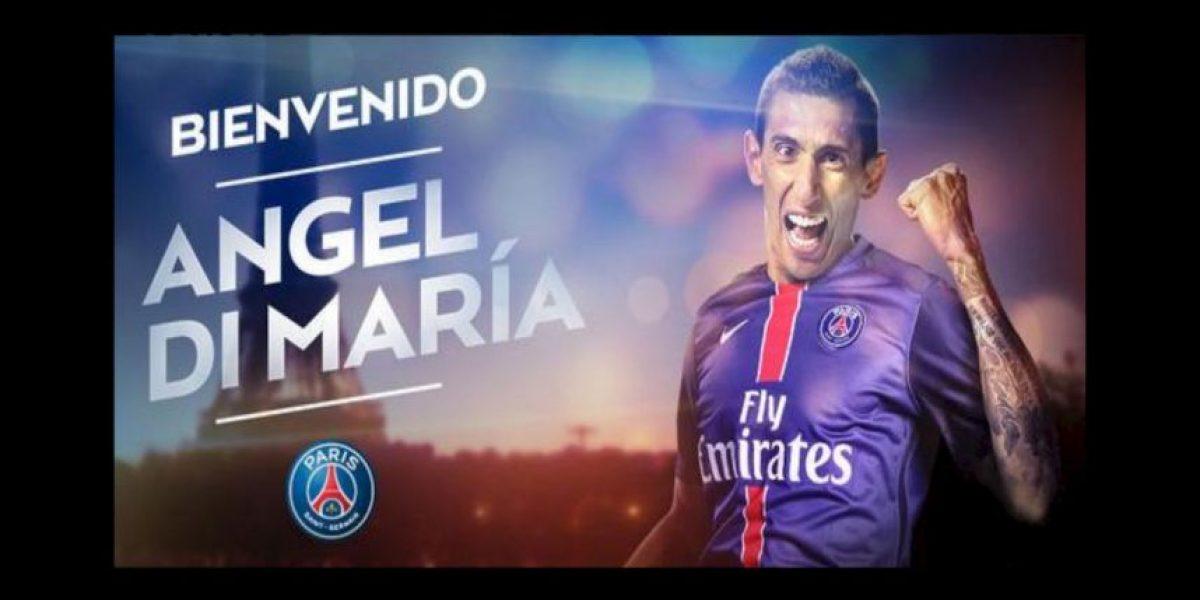 PSG hace oficial la llegada de Ángel Di María