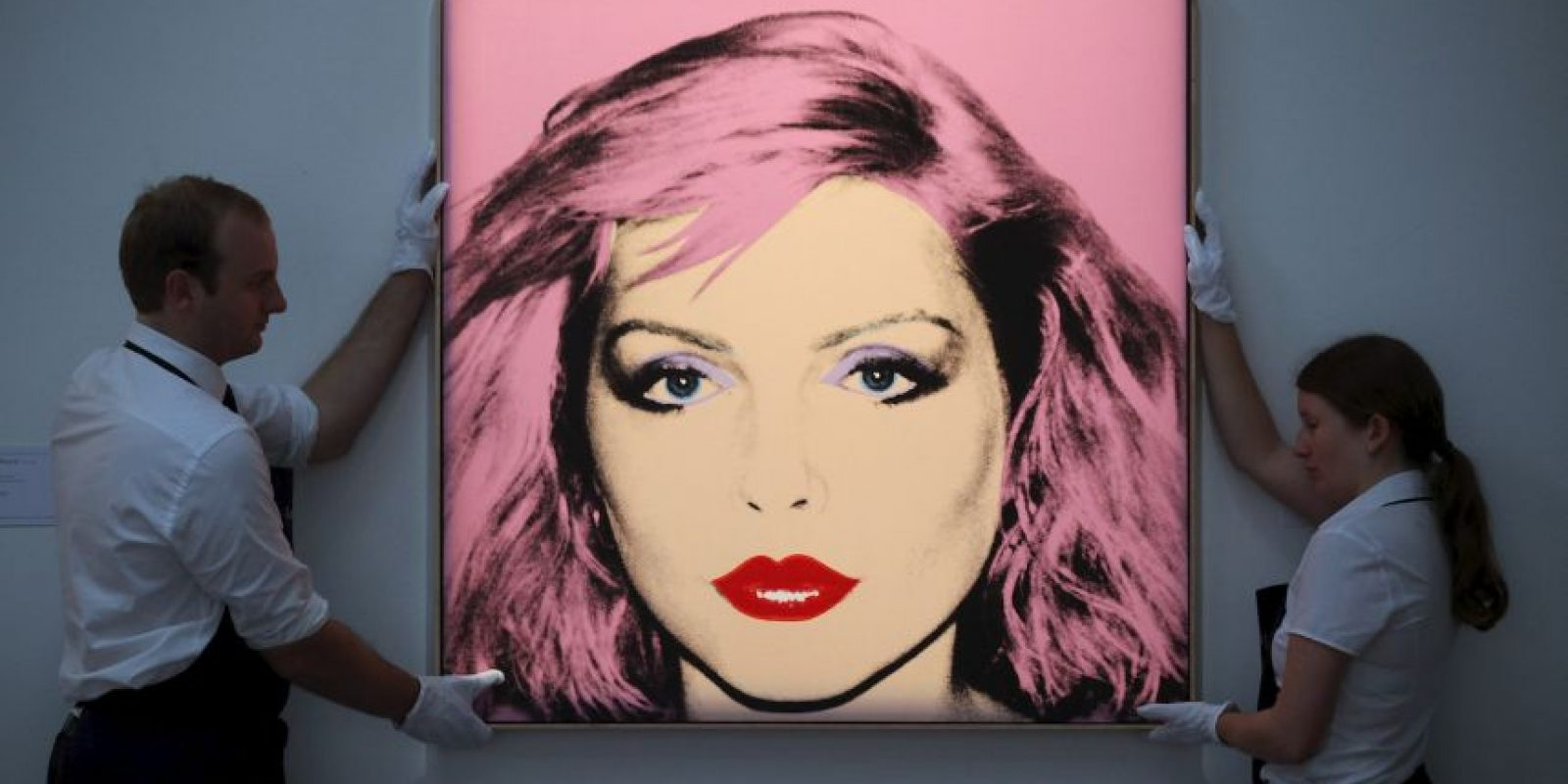 Retrato de Debbie Harry, vocalista de la banda setentera Blondie Foto: Getty Images