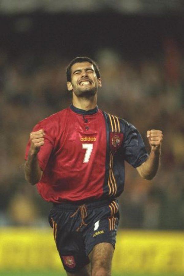 Como futbolista ganó seis Ligas de España y una Copa de Europa Foto:Getty Images
