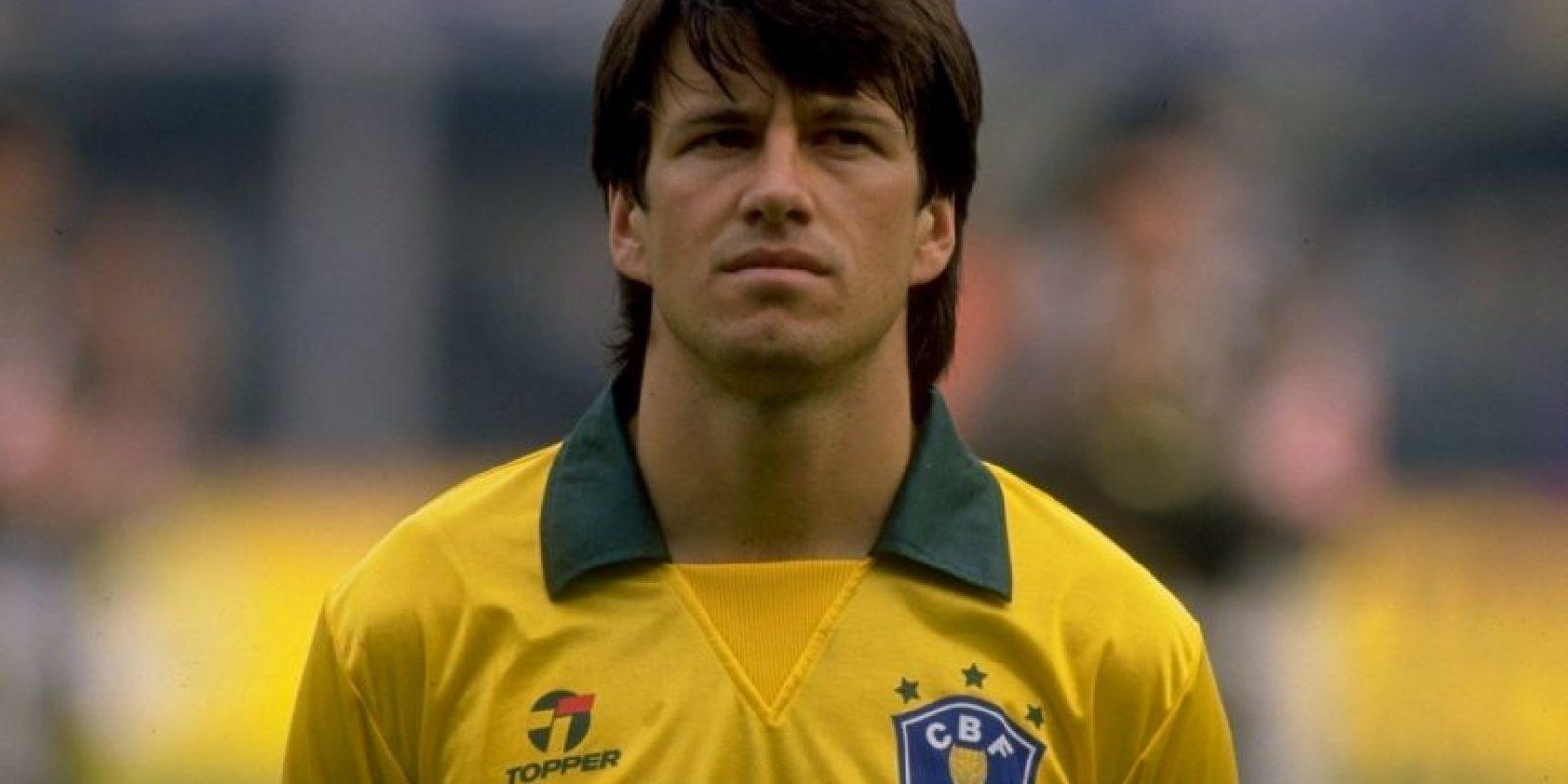 Dunga. Fue el capitán de la Selección de Brasil que ganó el Mundial de Estados Unidos 1994 Foto:Getty Images