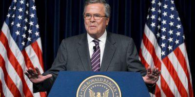 Jeb Bush la competencia de Trump como candidato del Partido Republicano, también aparecido como uno de los 4 buscados. Foto:Getty Images