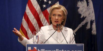 Por su parte Hillary Clinton únicamente a conseguido búsquedas dentro de Estados Unidos. Foto:Getty Images
