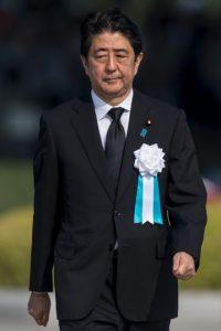 El homenaje a las víctimas se llegó a cabo en el Peace Memorial Park de Hiroshima Foto:Getty Images
