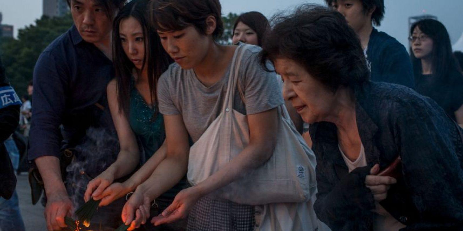 Acudieron cerca de 55 mil personas a rendir tributo a las víctimas Foto:Getty Images