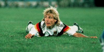 Jürgen Klinsmann. Fue campeón del mundo con Alemania en 1990 Foto:Getty Images