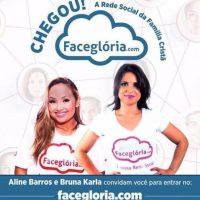 Publicidad de la red social Foto:Faceglória