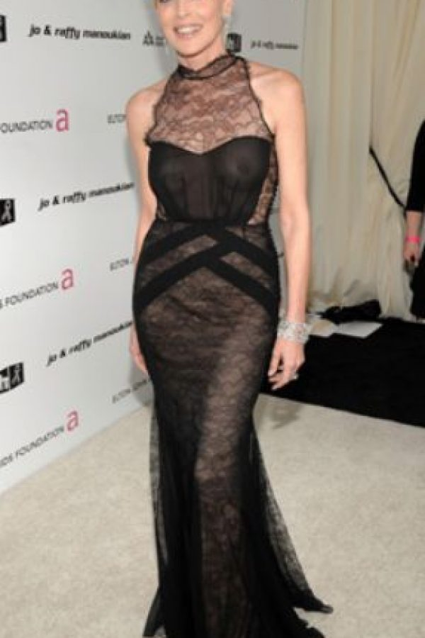 Sharon Stone, sin problemas. Foto:vía Getty Images