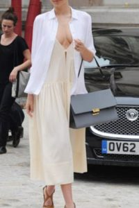 A Miranda Kerr ni se le nota. Foto:vía Getty Images