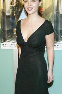 Christina Ricci es otra amante de no llevar nada. Foto:vía Getty Images